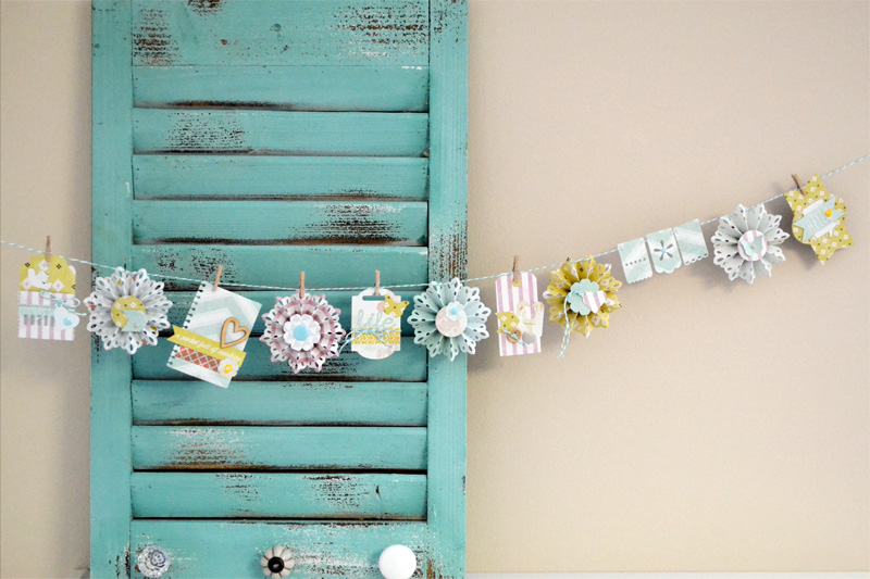 We R Spring Rosette Banner by Aly Dosdall