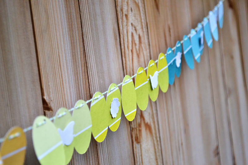 We R Paint Chip Easter Garland by Aly Dosdall close 2