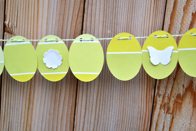 We R Paint Chip Easter Garland by Aly Dosdall close 3