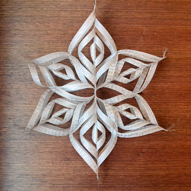 We R Vellum Star Ornament by Aly Dosdall