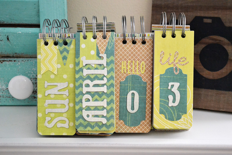We R Cinch Perpetual Calendar Kit 1 by Aly Dosdall