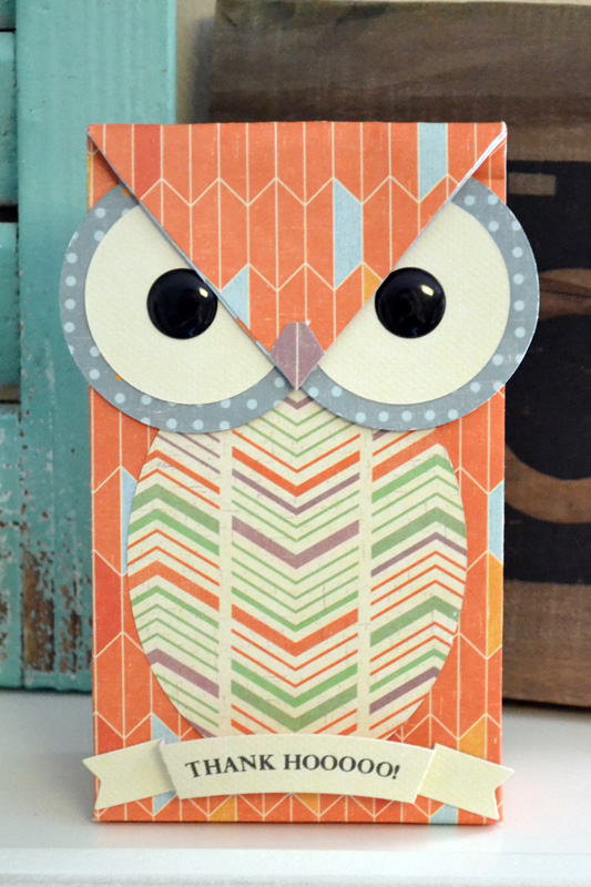 We R Owl Gift Bag by Aly Dosdall