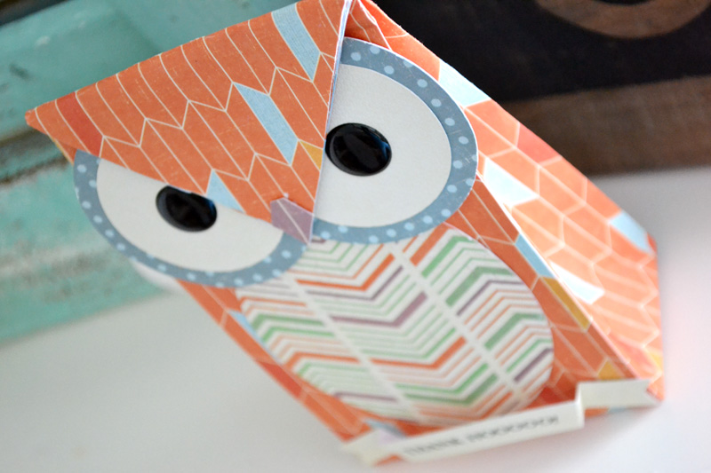 We R Owl Gift Bag by Aly Dosdall_close