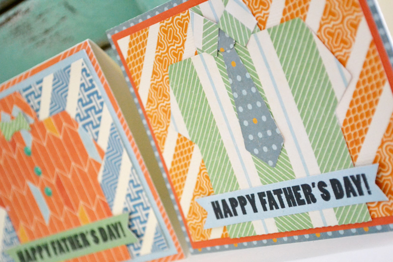 We R Shirt and Tie Cards by Aly Dosdall close