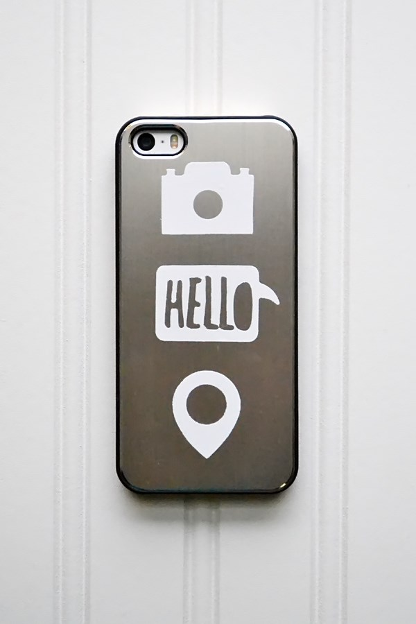 We R Vinyl Phone Decor by Aly Dosdall