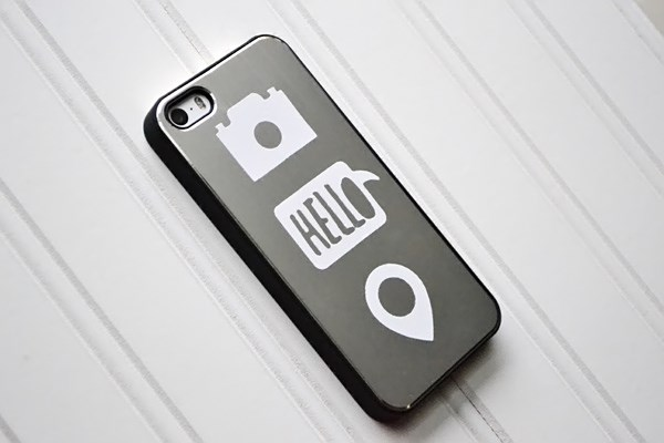 We R Vinyl Phone Decor by Aly Dosdall_close