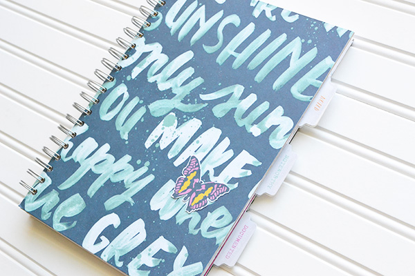 DIY School Notebook by Aly Dosdall 2