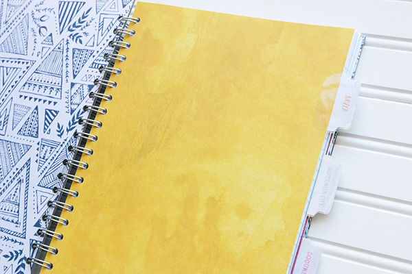 DIY School Notebook by Aly Dosdall 3
