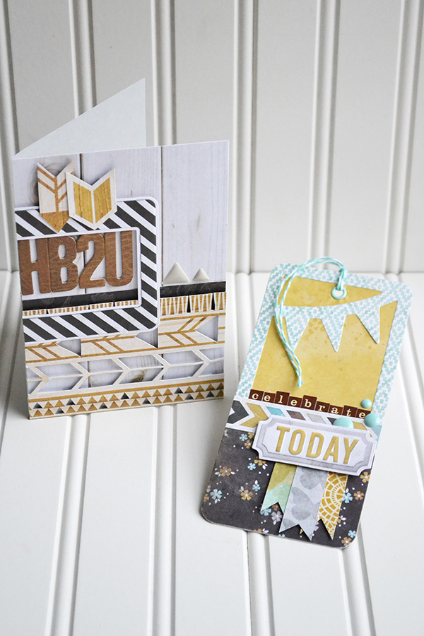 Indian Summer Card and Tag by Aly Dosdall