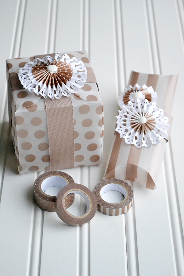 Washi Tape Rosettes by Aly Dosdall 2