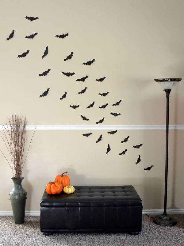 DIY Bat Decor by Aly Dosdall