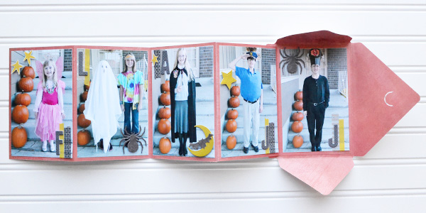 DIY Halloween Brag Book by Aly Dosdall 2