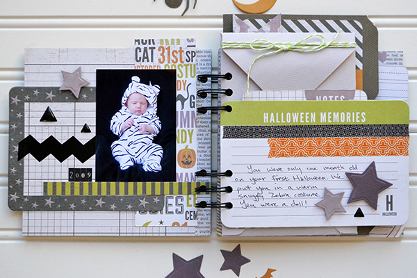 Halloween Costume Mini Album by Aly Dosdall_page 1