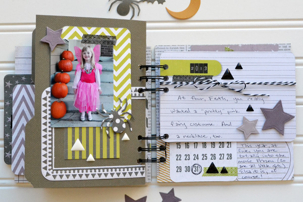 Halloween Costume Mini Album by Aly Dosdall_page 5