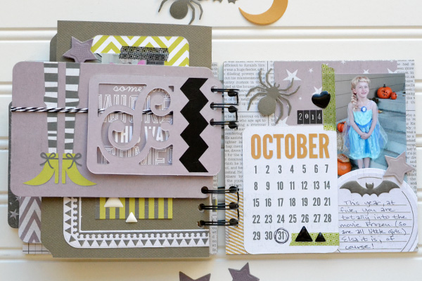 Halloween Costume Mini Album by Aly Dosdall_page 6
