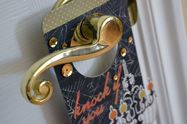 Halloween Door Hanger by Aly Dosdall_close 1