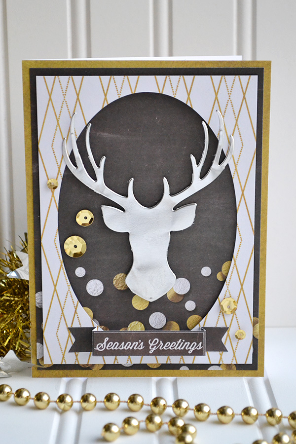 Seasons Greeting Card by Aly Dosdall
