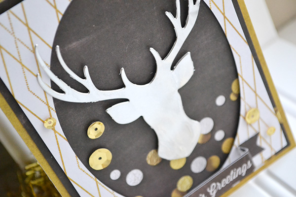 Seasons Greeting Card by Aly Dosdall_close