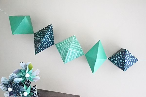 Paper Gem Garland by Aly Dosdall_close_filtered