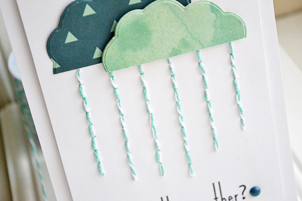 Under The Weather Card by Aly Dosdall_close