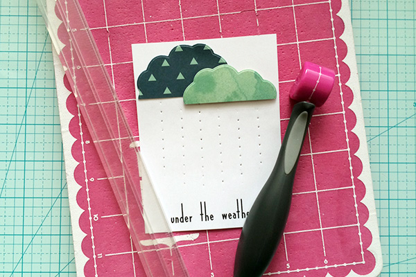 Under The Weather Card by Aly Dosdall_sew easy