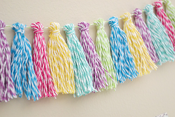 Bakers Twine Tassel Garland by Aly Dosdall_close 2