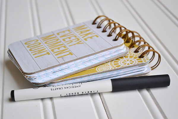 DIY Notebooks by Aly Dosdall 3