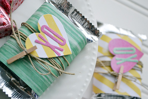 Valentine Candy Bar Wrappers by Aly Dosdall_close