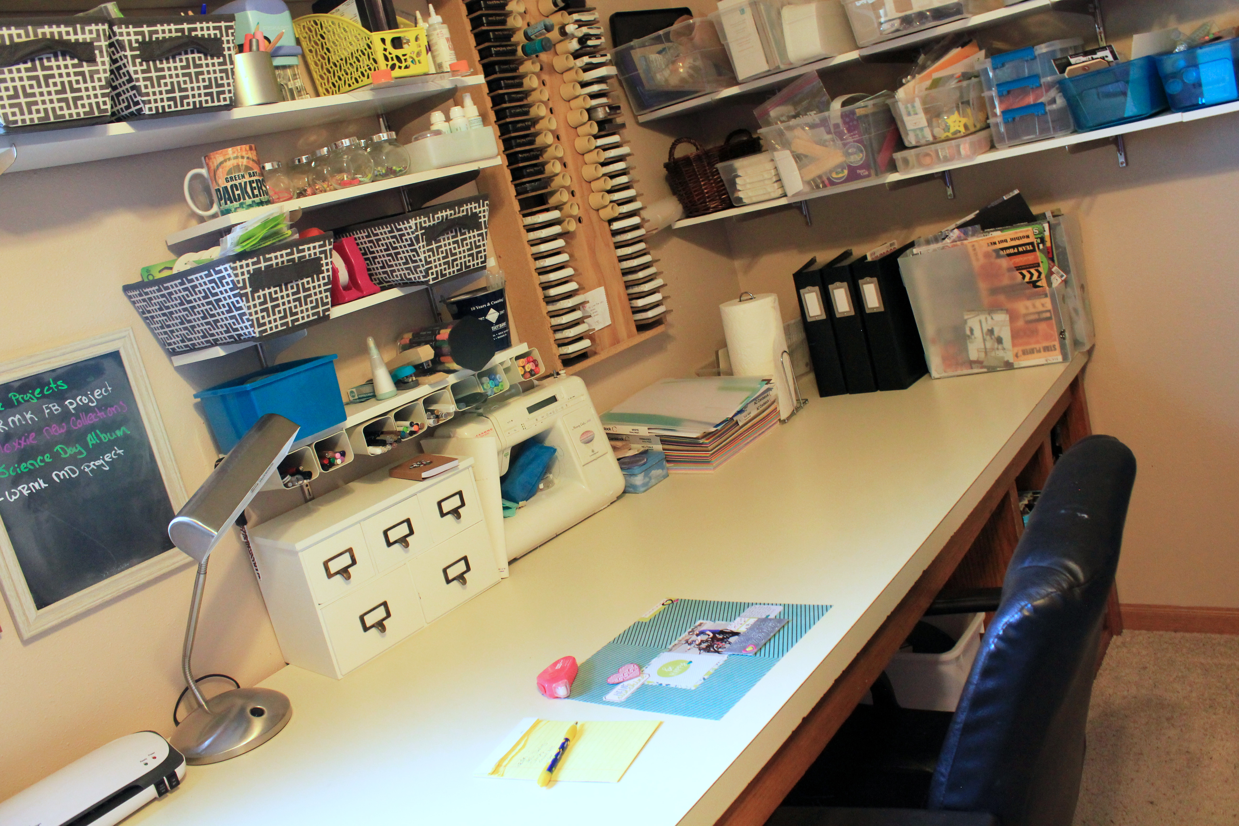 A Pieced Together Craft Room by Samantha Taylor 3