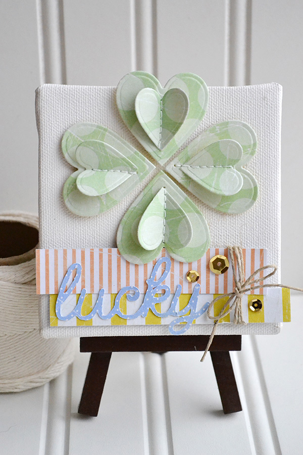 Paper Shamrock Decor by Aly Dosdall 1