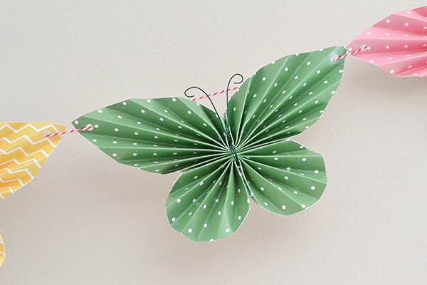 Folded Butterfly Garland by Aly Dosdall 1