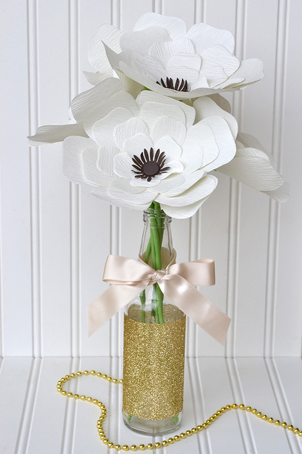 crepe paper flower bouquet by aly dosdall