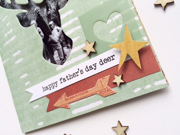 father's day photo card with evolution advanced by aly dosdall_close