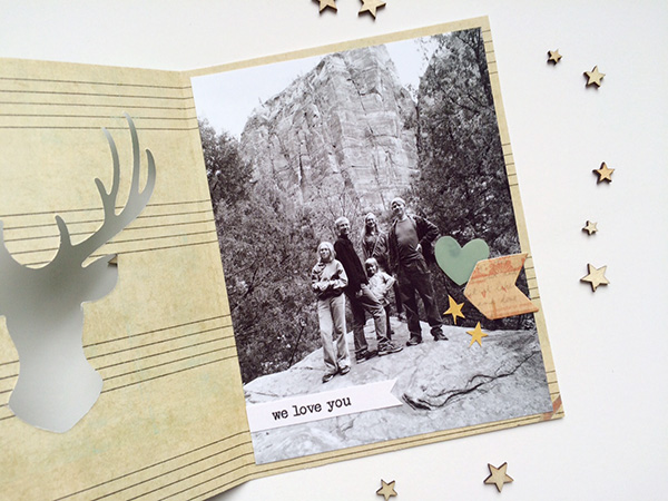 father's day photo card with evolution advanced by aly dosdall_inside
