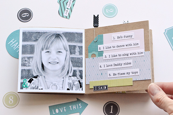 Template Studio Accordion Fold Fathers Day Album by Aly Dosdall 4
