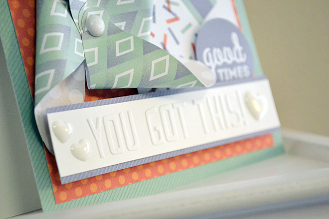 you got this embossing folder card by aly dosdall_close