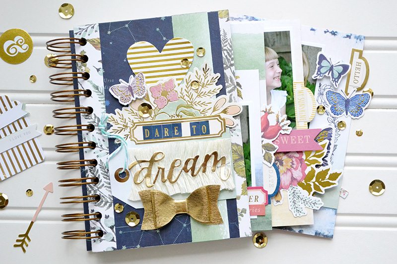 Dare to Dream envelope mini album by Aly Dosdall_flat1