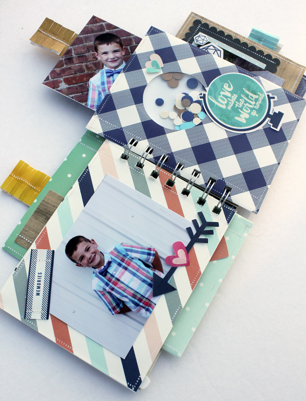 FUSEables Cinch Album by Samantha Taylor for We R Memory Keepers #FUSEables #thecinch