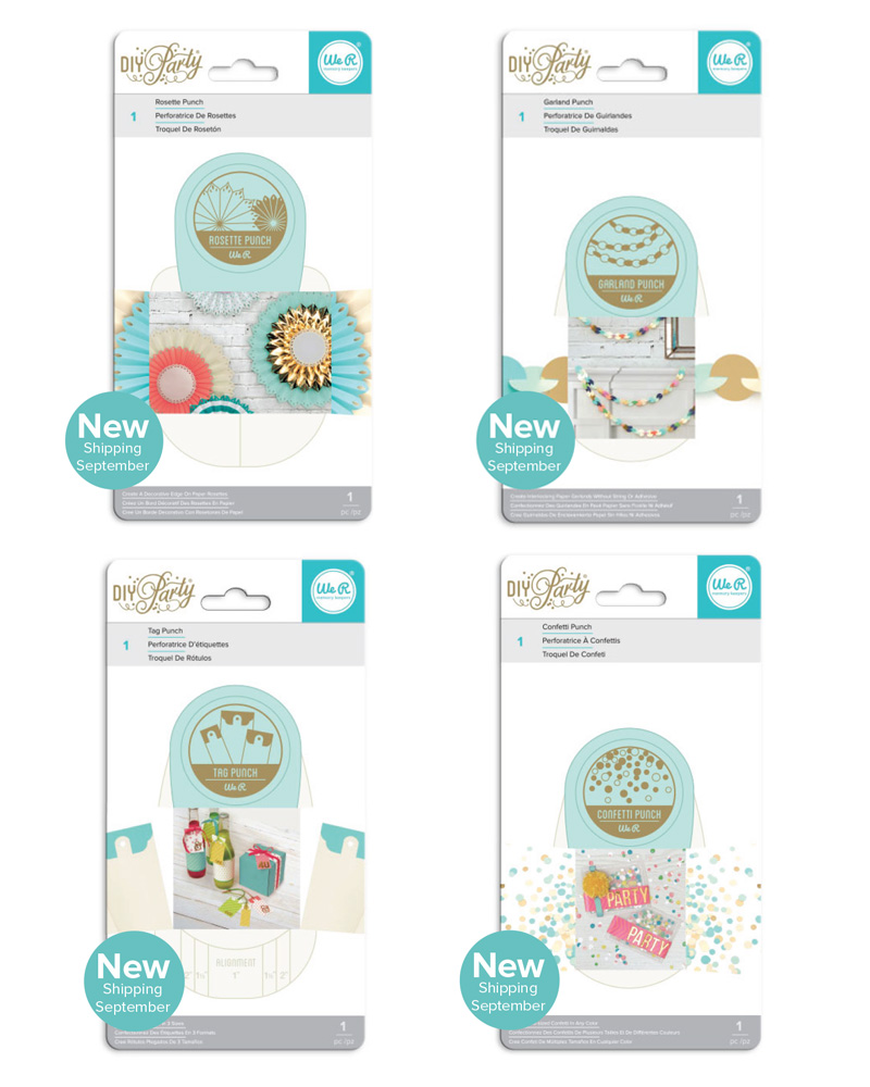 The new DIY Party Collection from We R Memory Keepers #diyparty #wermemorykeepers