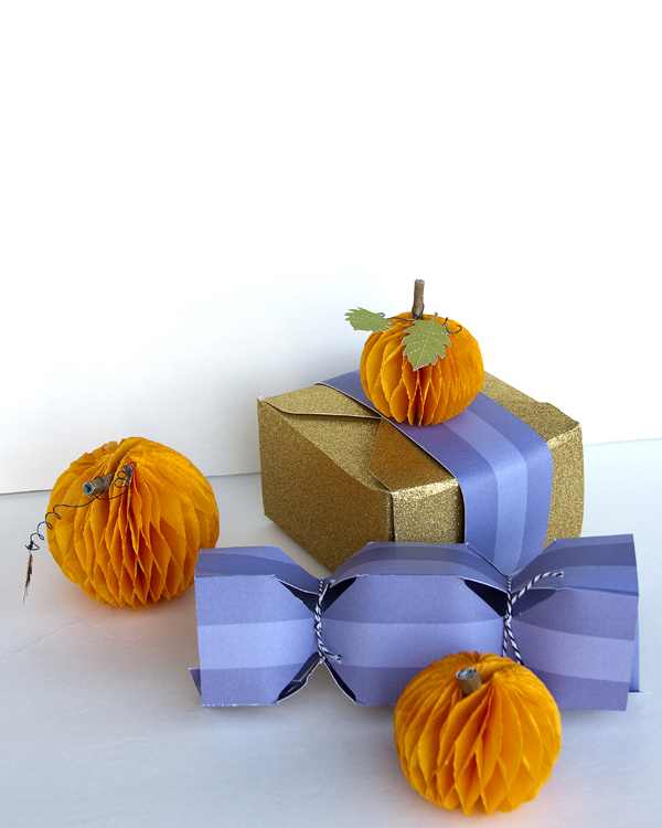 Fall Gift Packaging by Jennie McGarvey for We R Memory Keepers #templatestudio #DIYParty #falll