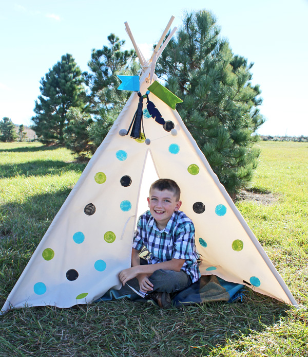 Polka Dot Teepee By Samantha Taylor 9