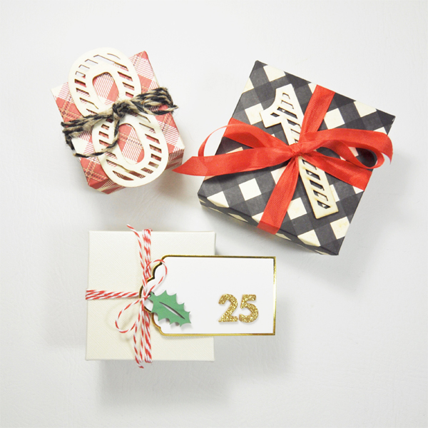 Christmas Countdown by Aimee Maddern for We R Memory Keepers #christmascountdown #christmascrafts #123punchboard