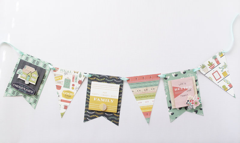 Honey I'm Home Banner by Laura Silva for We R Memory Keepers