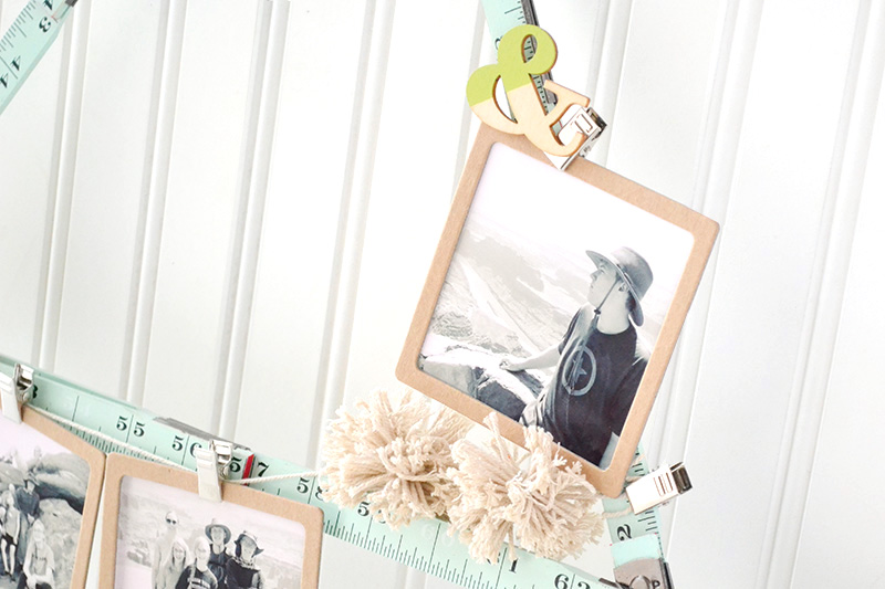 Ruler Studio Monogram Photo Display by Aly Dosdall 5