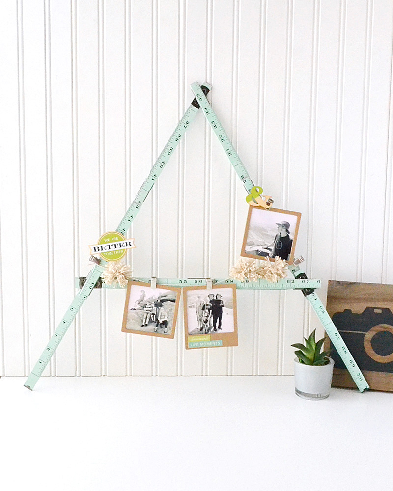 Ruler Studio Monogram Photo Display by Aly Dosdall