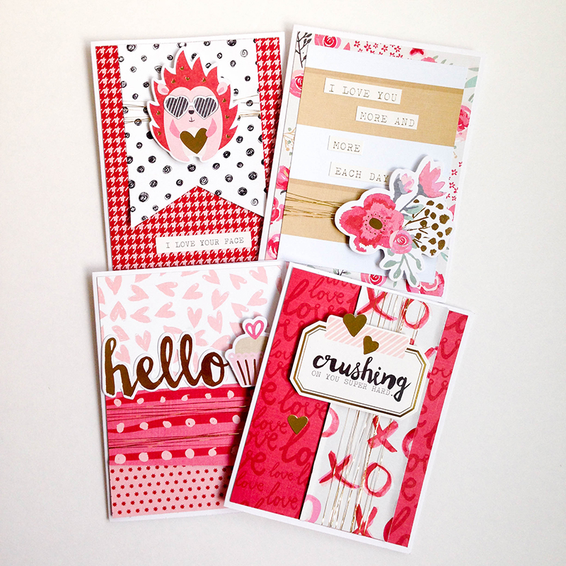 Crush Valentines by Tessa Buys for We R Memory Keepers