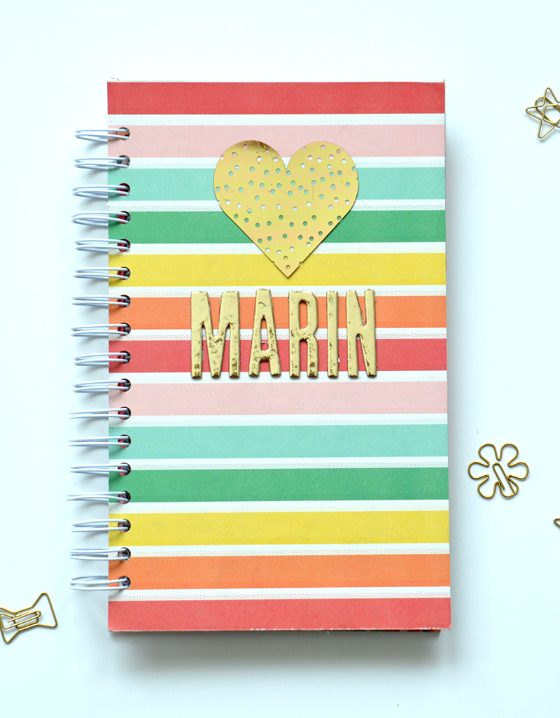 Goodie Bag Notebook by Amanda Coleman for We R Memory Keepers