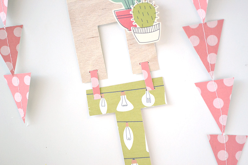 Hanging Garland by Aly Dosdall_close 2