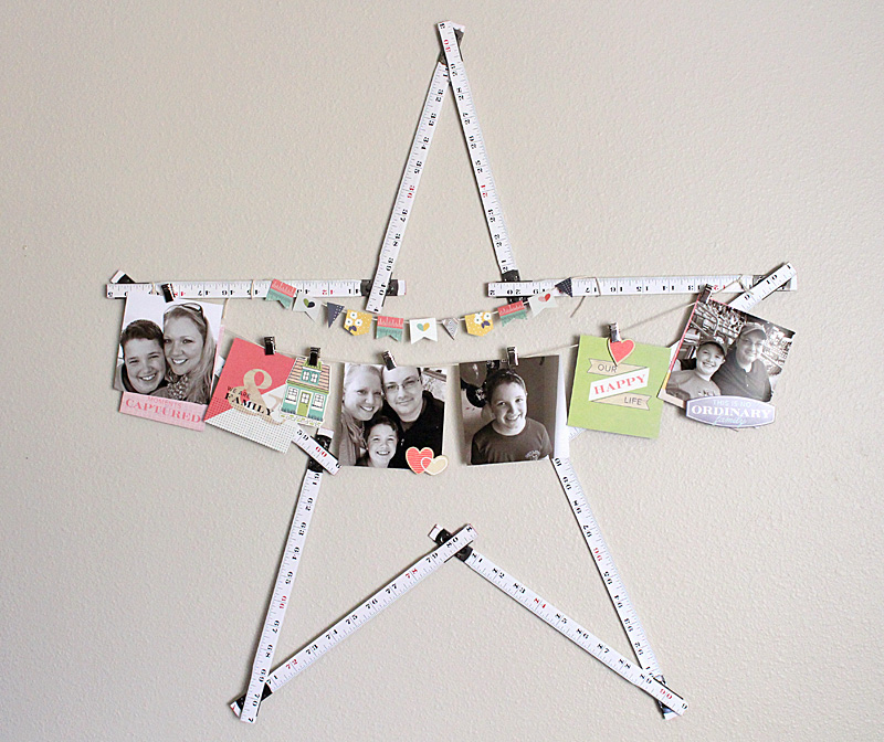 star ruler banner Kimberly Crawford for We R Memory Keepers
