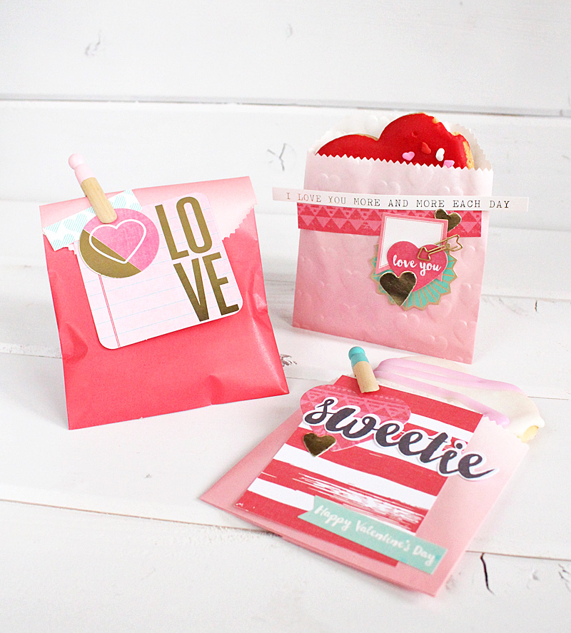 valentines day cookie bags Kimberly Crawford